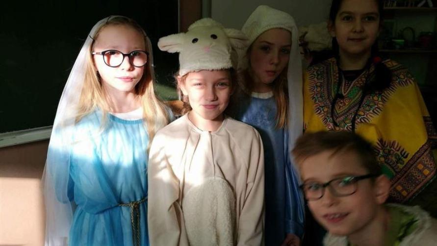 Uczniowie z Kobylina na Archidiecezjalnym Spotkaniu Kolędników Misyjnych