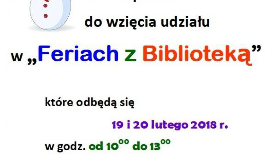 Ferie z Biblioteką w Smolicach