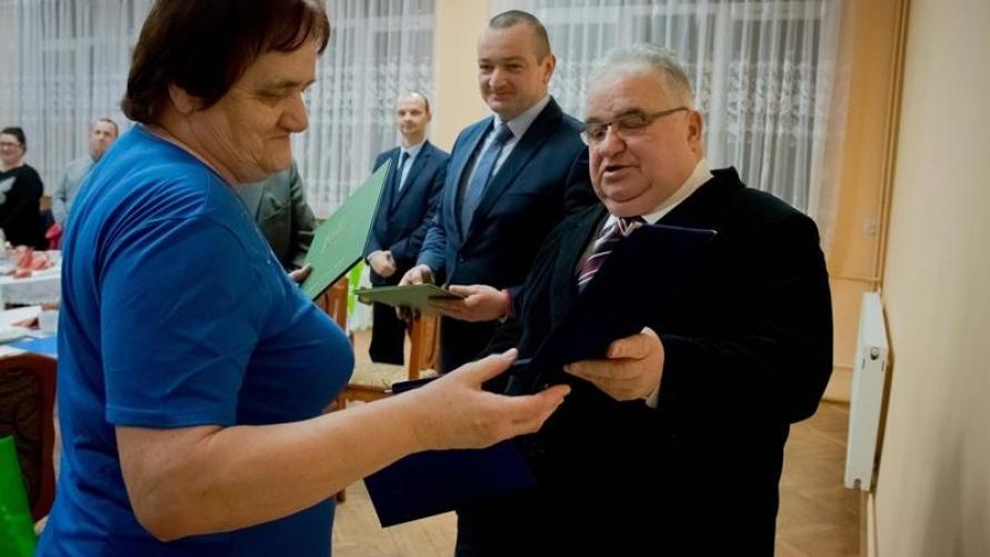 Zebranie Kółka Rolniczego i Koła Gospodyń Wiejskich w Srokach