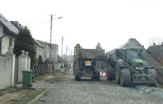 Przebudowa drogi w Kuklinowie