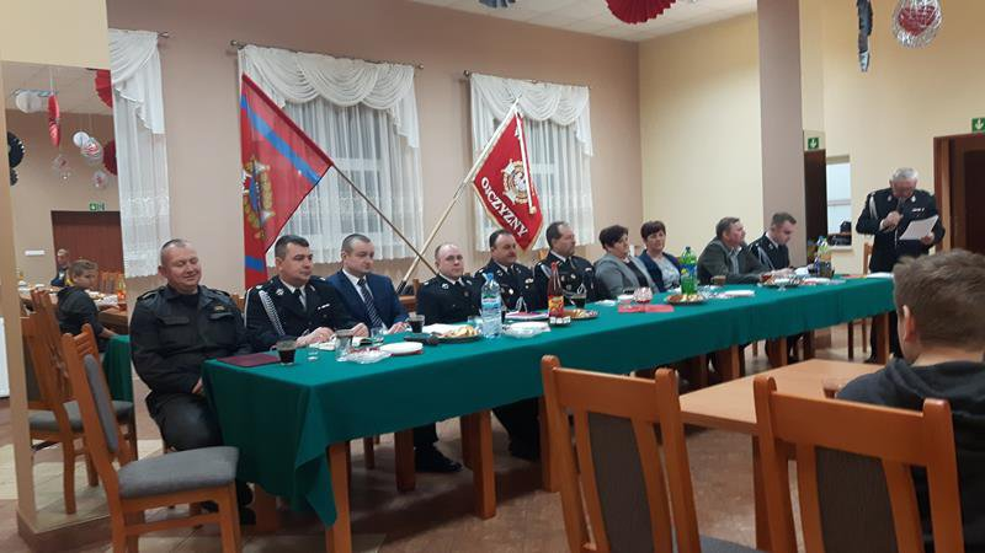 Zebranie sprawozdawcze OSP w Zalesiu Wielkim