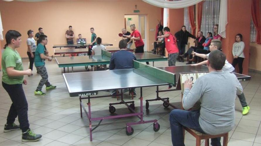 Mistrzostwa Łagiewnik w tenisie stołowym