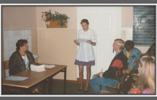 Wspomnienie o ś.p. Pani Annie Dembeckiej
