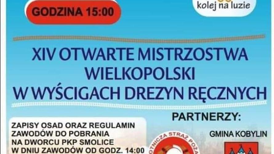 Zapraszamy na Mistrzostwa Wielkopolski w Wyścigach Drezyn Ręcznych