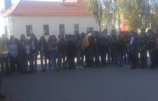 Sprzątanie świata w Branżowej Szkole I stopnia w Kobylinie