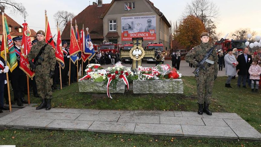 Gminne obchody 100. rocznicy odzyskania niepodległości przez państwo polskie