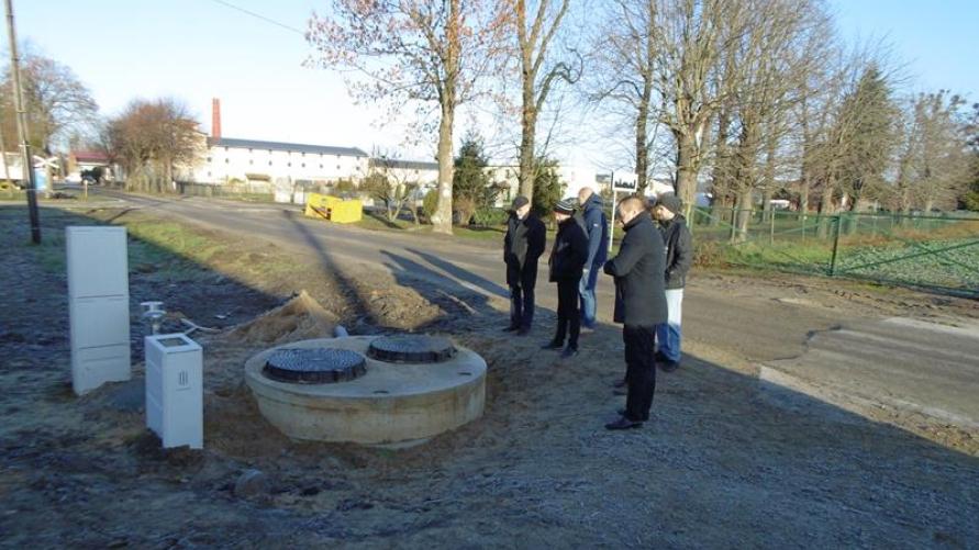 Odbiór kolejnego etapu budowy kanalizacji sanitarnej