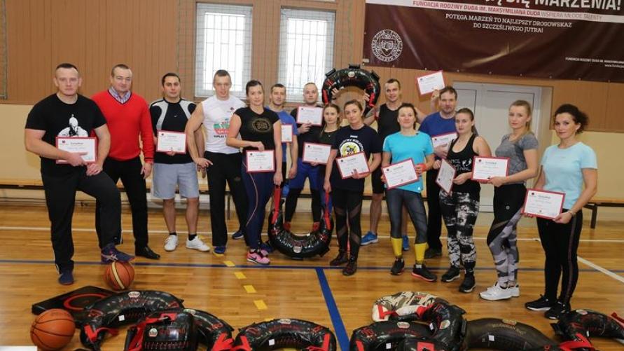 Zdjęcie z uczestnikami szkolenia.
