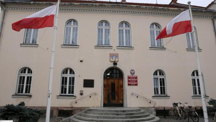 Budynek Urzędu Miasta Kobylin.