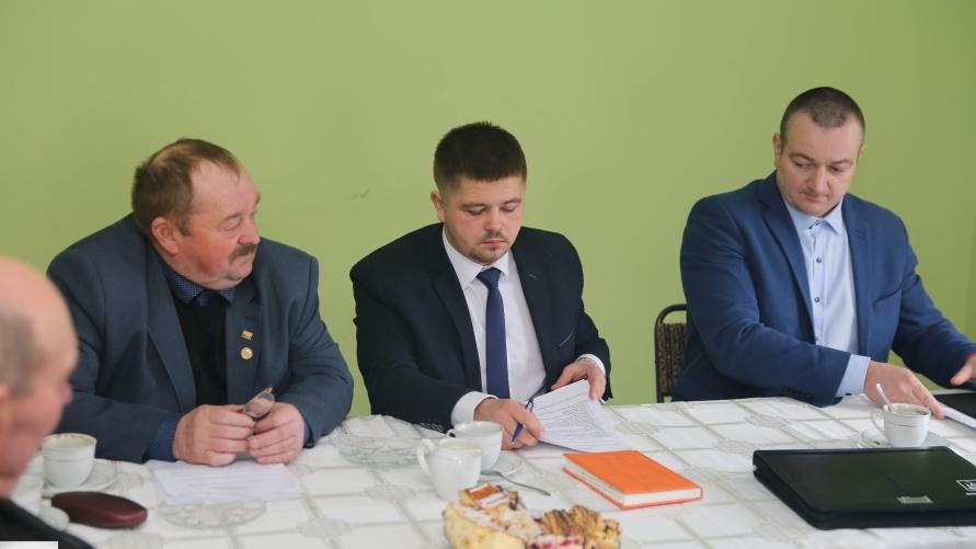 Sołtys Niepomucenowa Tadeusz Dymarski.