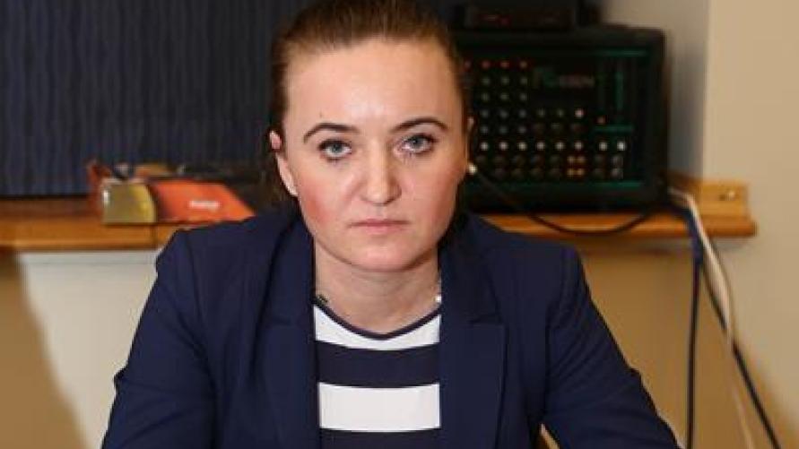 Przewodnicząca Zarządu Osiedla w Kobylinie - Marlena Rudowicz