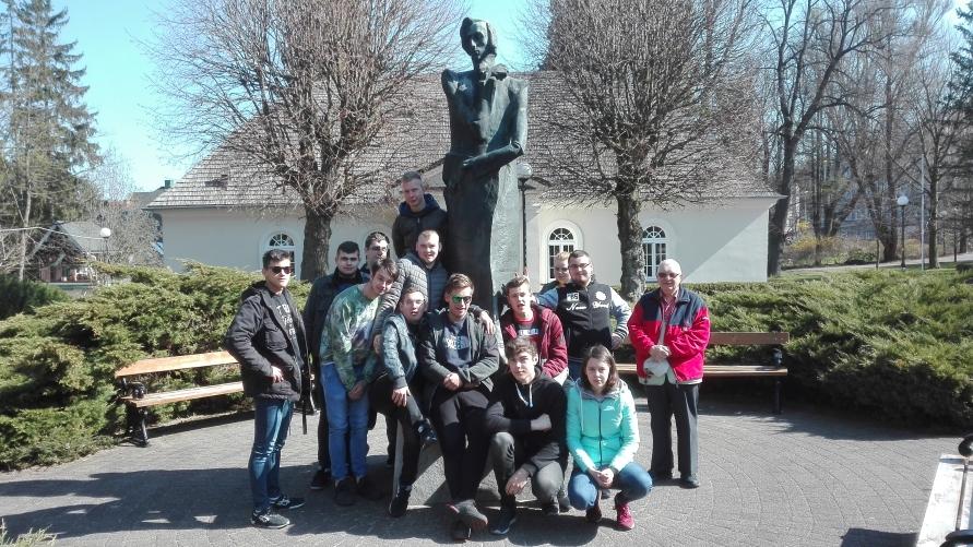 Uczniowie Branżowej Szkoły I stopnia na wycieczce w Pradze
