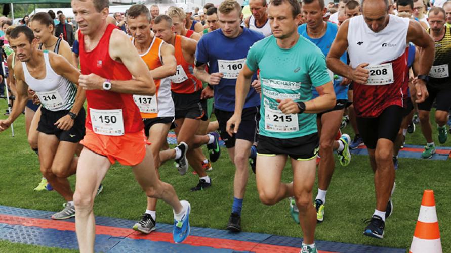 plakat - zaproszenie na bieg