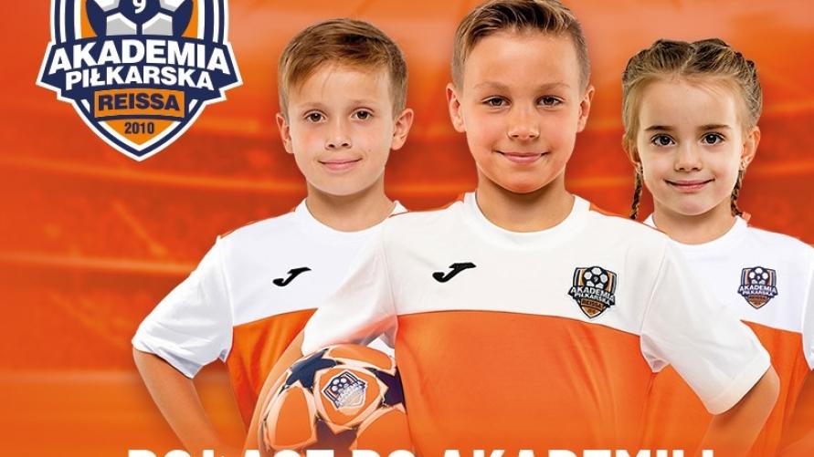 Plakat Wielkie nagrody dołącz do akademii i odbierz piłkę!