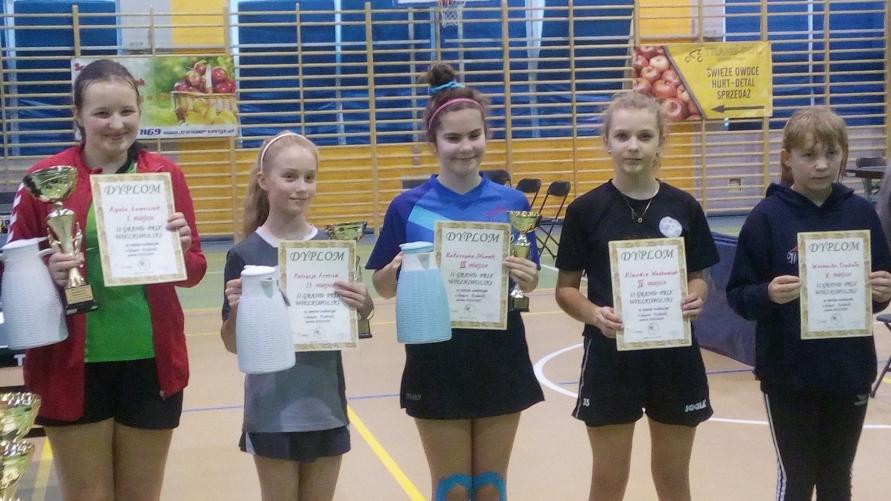 Młodzi tenisiści LKS Spółdzielca