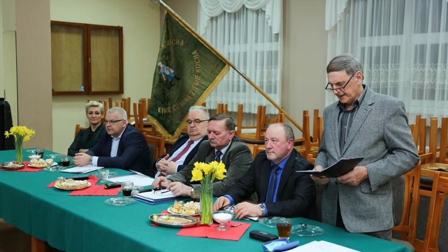 Uczestnicy zebrania w Zalesiu Wielkim