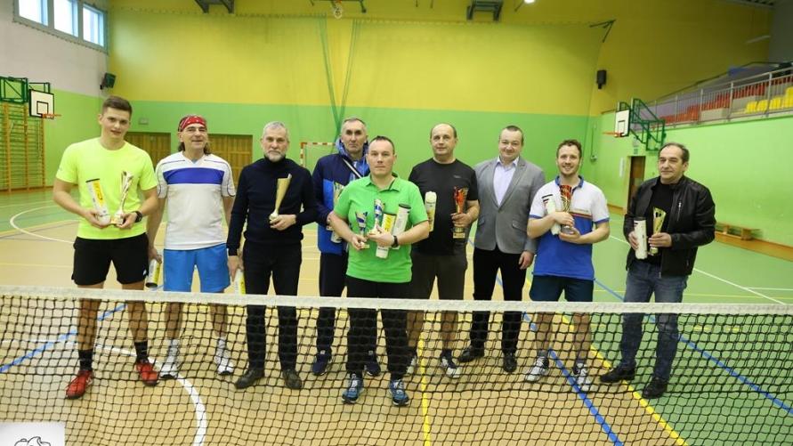 Halowe deblowe mistrzostwa gminy Kobylin w tenisie ziemnym