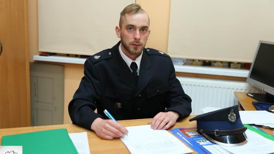 Prezes OSP Kobylin dh Mikołaj Dyba