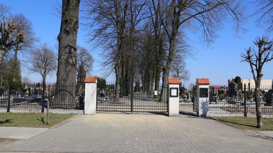 Zakaz wstępu na cmentarze w gminie Kobylin