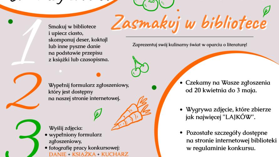 Plakat z informacją jak w treści